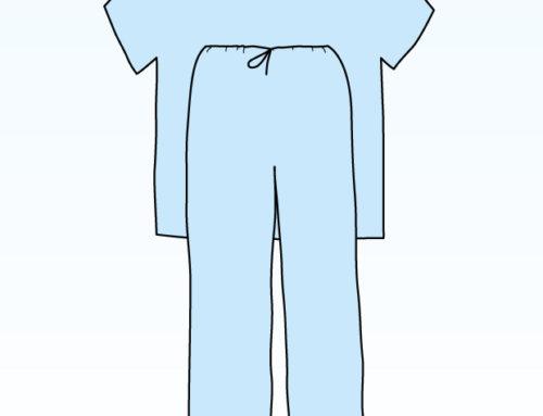 Pijama unica folosinta