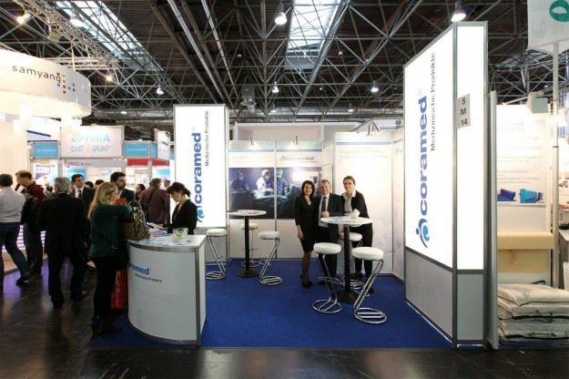 Participation of Coramed MP to MEDICA - Dusseldorf 2013 Exhibition